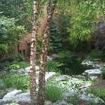 waterfall garden - Inn at St Johns