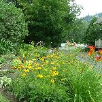 One of the many Gardens at the Featherbed Inn