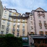 Corvin hotel-backside