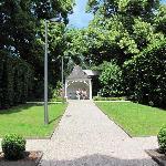 courtyard and gazebo