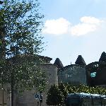 Bordeaux : subtil mélange d'histoire et de contemporain (Fort du Ha XV° siècle et Tribunal de Gr