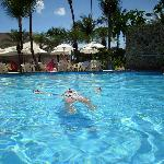 as piscinas de agua mineral quente