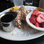 Crunchy french toast - delicious!