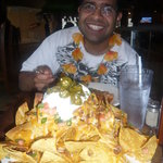 Biggest nachos ever....