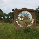 Banana Village Sign