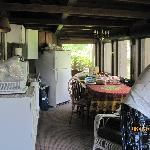 cuisine - extérieur - seulement moustiquaire