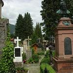 Auch einen Besuch wert, der Friedhof von Oberammergau