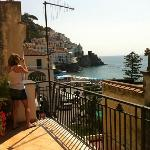 Seaview room... quite nice compared to most other hotels in Amalfi.