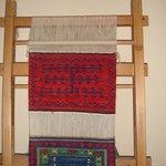 Weaving Kilim
