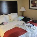 Zimmer mit King-Size Bett