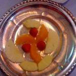 Our pathetic 'fruit platter'