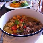 Trinidad Herb Chicken Curry