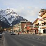 Vue de Banff
