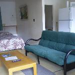 we offer one & two bed units