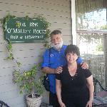 Rick and Marilyn at O'Malley House