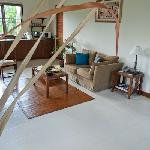 One bedroom villa living room