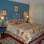 A very comfortable king size bed in the Lilli Marleen room
