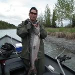 I caught this 25 Ibs at the last friontier! Alaska