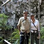 Abseiling Bride Cave