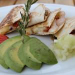 Breakfast -Shrimp Quesadillas