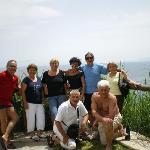 il gruppo di ischia all'hotel giardino delle ninfe
