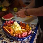 Breakfast prep at El Secreto