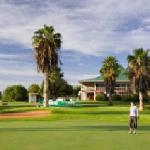 Leopard park golf course next door to The 4-star Peermont Walmont at Mmabatho Palms, Mafikeng, N