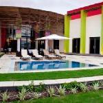Pool at the 3-star Peermont Metcourt at Umfolozi in Empangeni KwaZulu-Natal