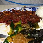 The Kalbi, which was hidden by the beef Jun