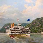 steamboat painting