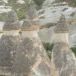 View of Fairy Chimneys from balloon