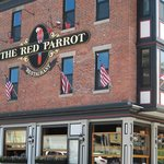 Outside of the Red Parrot