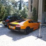 Our Opel and someone's Lamborghini