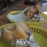 steamed bagel sandwich