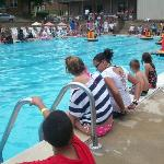 the Big Pool at the Pirate Boat Races