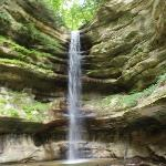 A waterfall in Illinois!