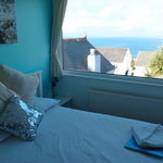 Sea holly room and the view from the room - Lovely!