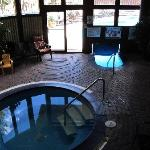 Hot Tub and Pool, small but heated