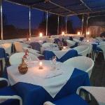 Al fresco dining at Mario Mare