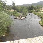 The Cimarron River runs through Cimarroncita