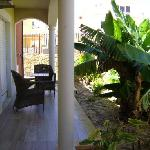 Villas D. Dinis, terraza privada, Lagos, Portugal.