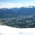 Canmore from Ha Ling Peak