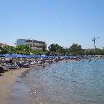 Strand und Hotel