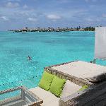 Balcony of our villa