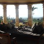 fanatstic open air living room