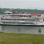 Take a cruise on the Celebration Belle Riverboat