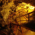 Stairs into the mine...