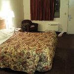 A bed big enough for 3... Ha ha!