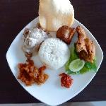 Gudeg Jogja Rice (nasi gudeg Jogja)