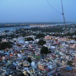 Trichy City view from atop rock fort